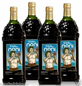 TAHITIAN NONI Juice Original By Morinda Brand New 4 Bottle Case SALE