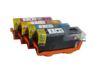Refillable-Ink-Cartridges-for-HP-OfficeJet-Pro-6230-6830-6835-w-Chips-934-935