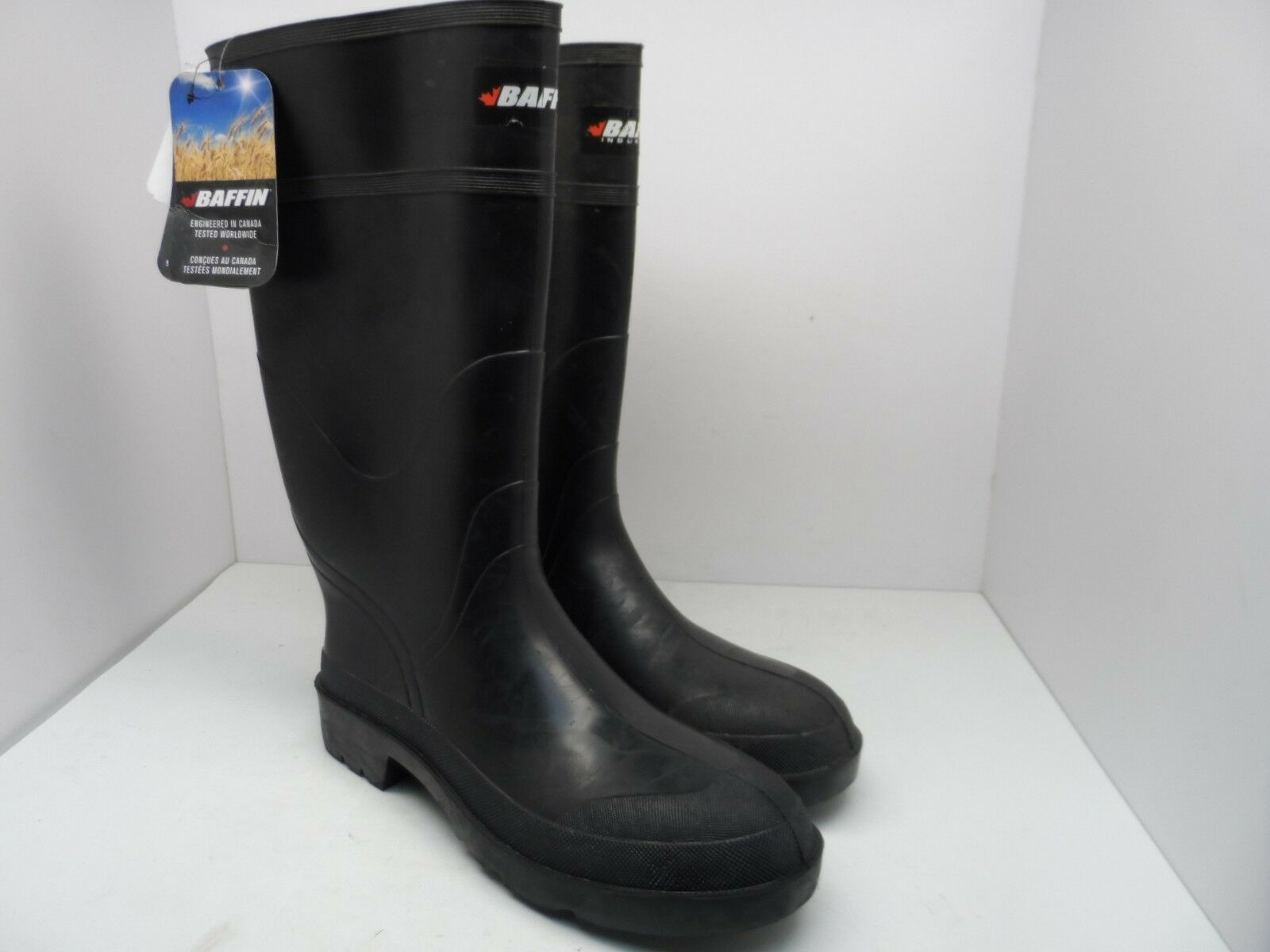 Baffin Men's 14  Insulated Rubber Boot Black Size 13M