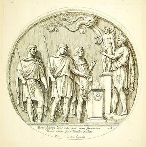 Sacrifice-IN-Hercules-Bas-Relief-Arc-Of-Constantin-Francois-Perrier-1645