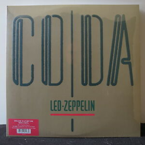 Led Zeppelin Coda Deluxe Gatefold 180g Vinyl 3lp New