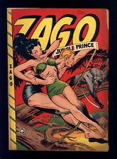 Zago Jungle Prince #4 VG Baker Cover