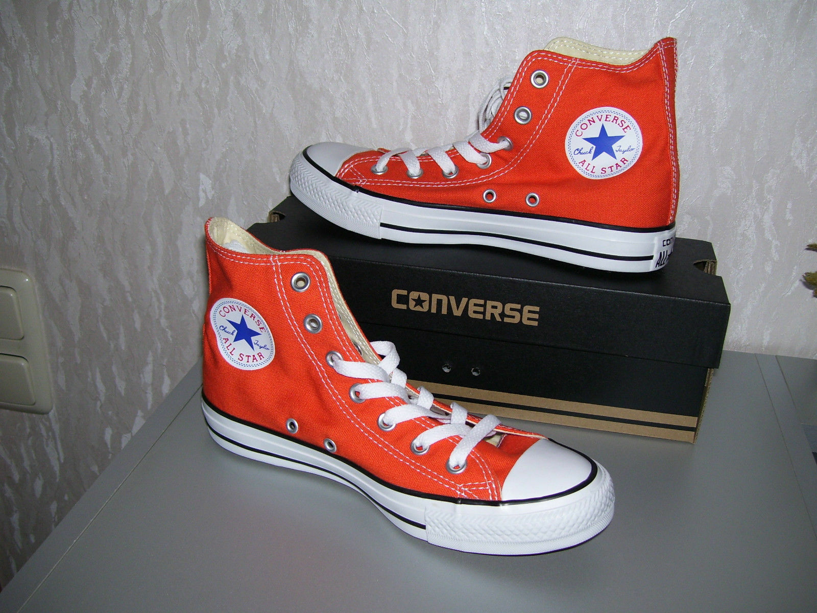 Converse All Star Chucks hi high Kult orange terracotta Grösse 36,5 oder 39 neu