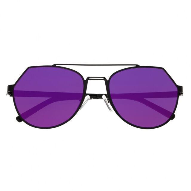94ed88dd97 Bertha Hadley Geometirc Black Frame Purple Pink Lens Women s Sunglasses  BR021B