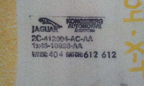Jaguar X-Type Vorne Links Rechter Sitz Beheizt Element 2002 03 2004 2005 2006