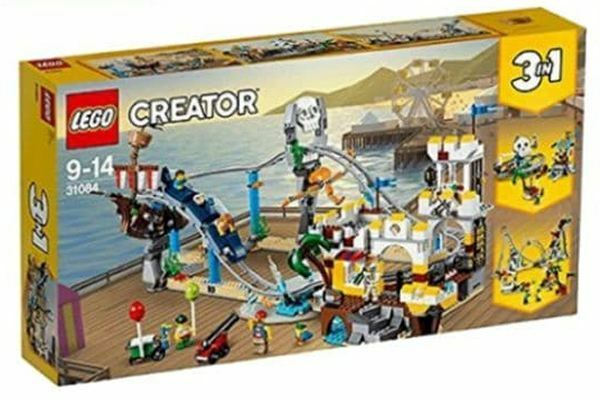 Lego Creator 3 in 1 31084 Pirate Roller Coaster  NEW & Unopened Damaged Box