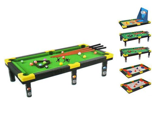 Gioco da tavolo 5in1 basket hockey biliardo snooker pool calcio sport giochi