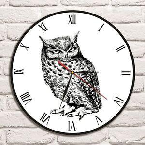 owl design vinyl record wall clock home art shop office hero rh ebay co uk home art decor's shop home art shop kz