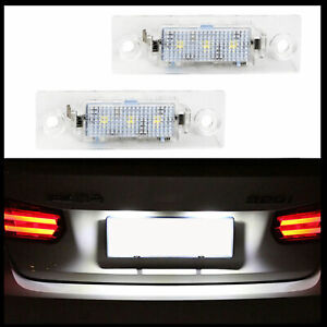 2x-LED-PREMIUM-Kennzeichenbeleuchtung-fur-VW-T5-T6-Passat-3BG-3C-B5-B6-Touran