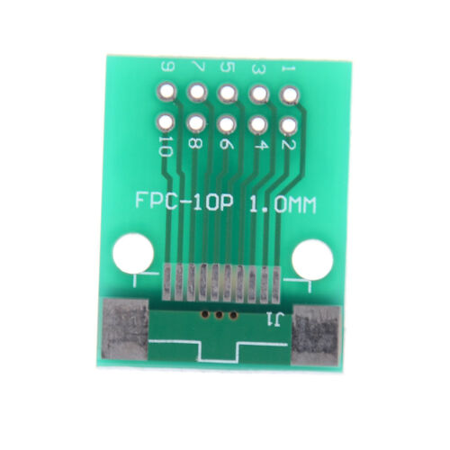 1Pc 10-Pin 0.5mm FFC FPC to 10P DIP 2.54mm PCB Converter Board Adapter FPBLUS