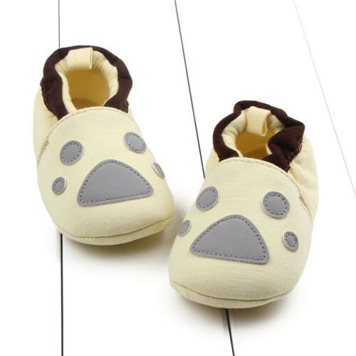 0-12M Newborn Baby Girls Soft Sole Shoes Trainers Toddler Anti Slip Crib Shoes