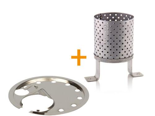 Petromax poele turgescents assiette chauffage HK 500 en laiton chromé//poli//mat