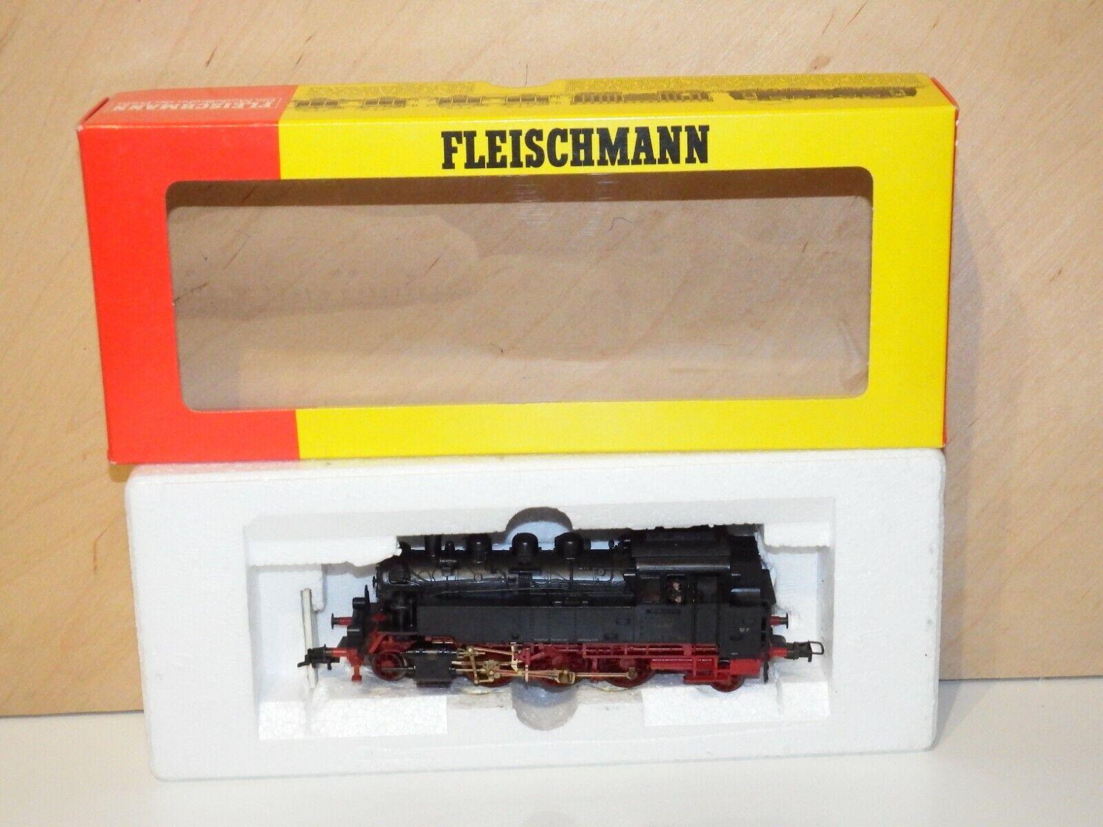 H0 Fleischmann 4063 Locomotora de Vapor Dr Br 64 387 Emb.orig 8580
