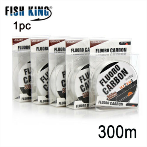 300M FluoroCarbon Carbon Fiber Coating Fly Fishing Strong String Line 30-45LB