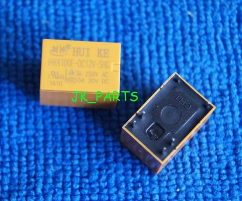 10x Original HK4100F-DC12V-SHG 3A 250VAC 30VDC 6 Pines JRC-21F Relé