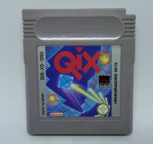 QIX-Arcade-Puzzle-Nintendo-Game-Boy-Color-Advance-DMG-QX-NOE