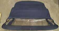 Mercedes W107 R107 Convertible Roof Canvas Soft Top Frame 107 OEM DARK BLUE
