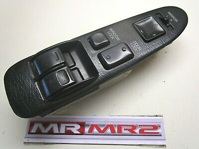 Toyota MR2 MK2 Black Passenger Side Window Switch Mr MR2 Used Parts 1989-1999