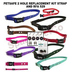 RFA-529-amp-3-4-034-Strap-RFA41Petsafe-SportDog-2-Holes-Universal-Size-Straps-Refresh