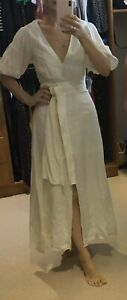 TALULAH-cream-Cotton-Maxi-Dress-Bnwt-Rrp-250-Sz-8