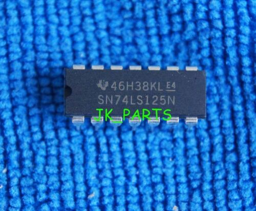 10pcs SN74LS125N SN74LS125 74LS125 IC DIP-14