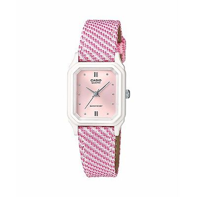 LQ-142LB-4A2 Pink Casio Ladies Watches Resin Band Water Resist Analog Brand-New