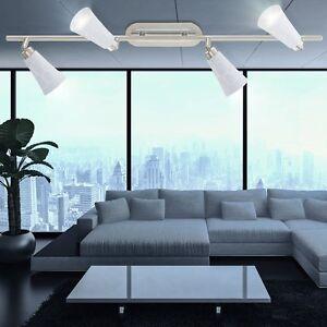 Decken Küchen Leuchte Bad Lampe 4er Spot Beleuchtung Badezimmer ...
