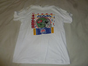 VINTAGE SAN FRANCISCO 49ERS SHIRT 1989 NFC CHAMPS SUPER XXIV BOWL ... 48a9945e0