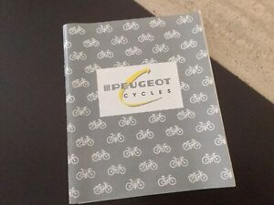 Vintage Peugeot 1980s  Bike Bicycle Handbook Owner's Manual Rare