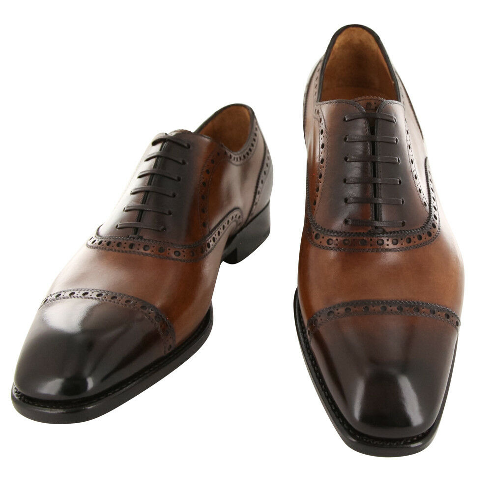 New  1250 Fiori Di Lusso Caramel shoes - Wingtip Lace Ups - (BSNCRB)