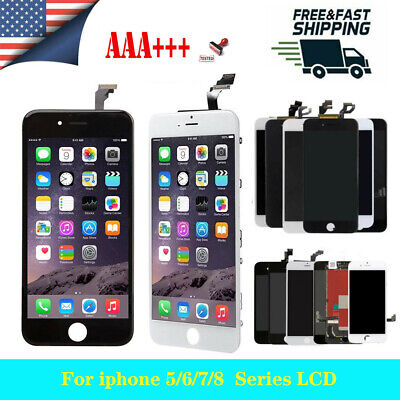 the best attitude 78e47 bf6c2 Black for Apple iPhone 5c Touch Screen LCD Display Digitizer Replacement  A1516