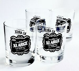 14oz-Double-Old-Fashion-4-Glass-Set-XLARGE-Limited-Edition-Brand-New-Authentic
