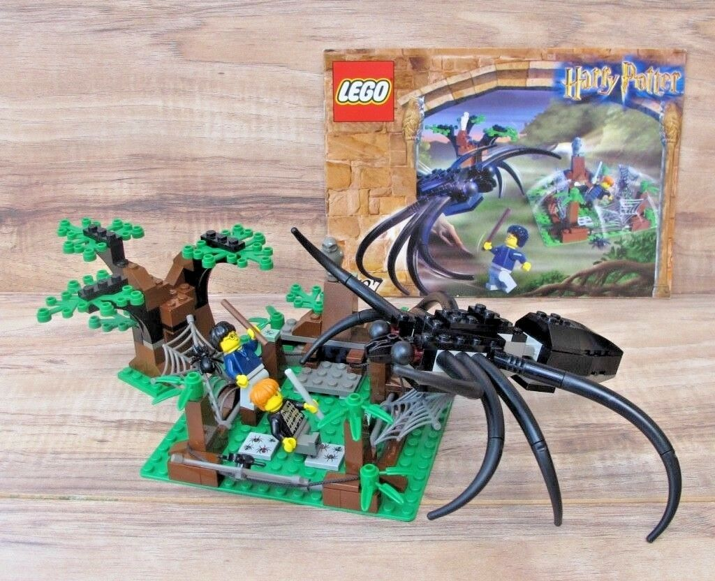 HARRY POTTER LEGO 4727 Aragog in the Dark Forest - 100% Complete + Manual - EUC