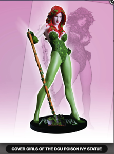 DC-COMICS-COVER-GIRLS-POISON-IVY-STATUE-ADAM-HUGHES-FACTORY-SEALED-BRAND-NEW