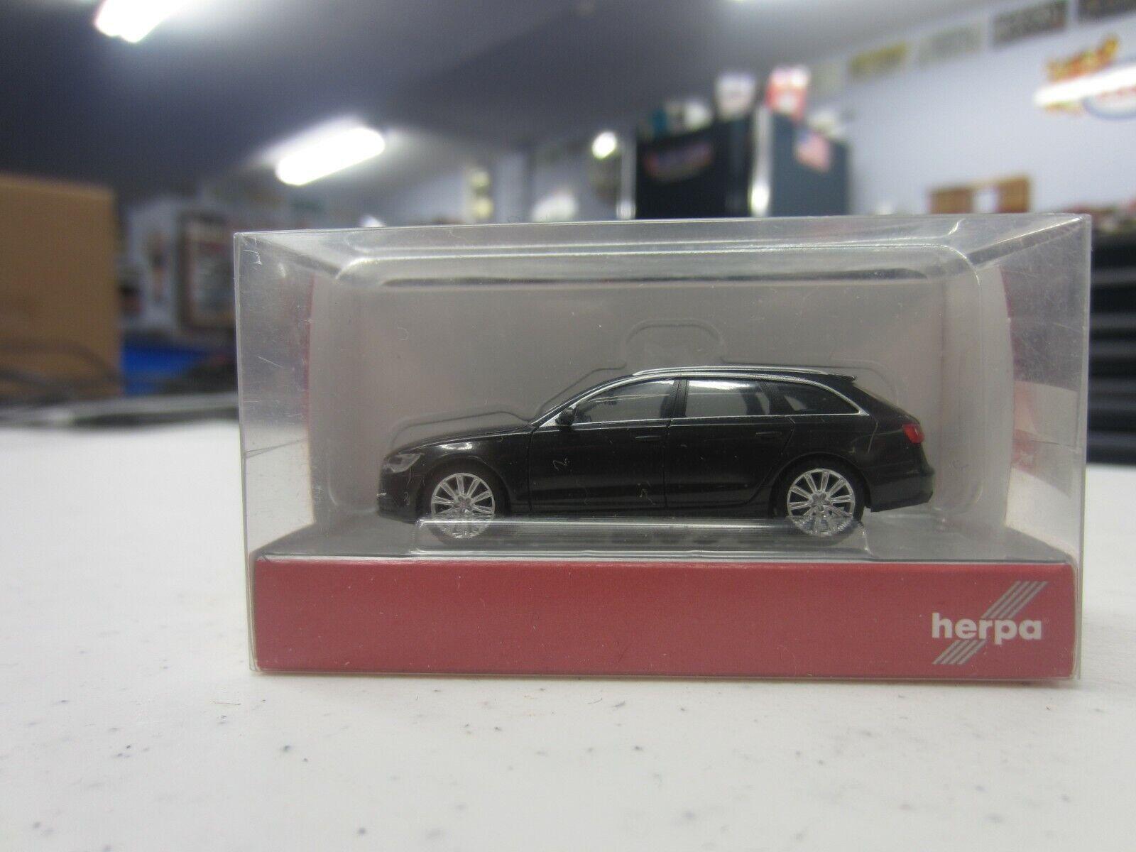 1//87 Herpa Audi A6 rot 430630-002