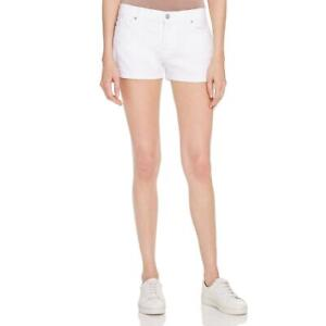 7-For-All-Mankind-Womens-Cuffed-Classic-Rise-Casual-Denim-Shorts-BHFO-9087