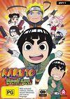 Naruto Spin-Off - Rock Lee And His Ninja Pals : Part 1 : Eps 1-26 (DVD, 2016, 4-Disc Set)