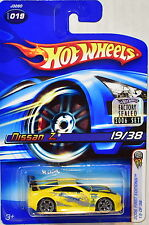 HOT WHEELS 2006 FIRST EDITIONS NISSAN Z #019 YELLOW FACTORY SEALED