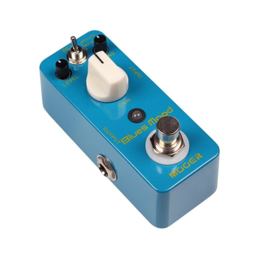 Mooer Blaus Mood Overdrive Guitar Effect Pedal Pedal Pedal ecb41f