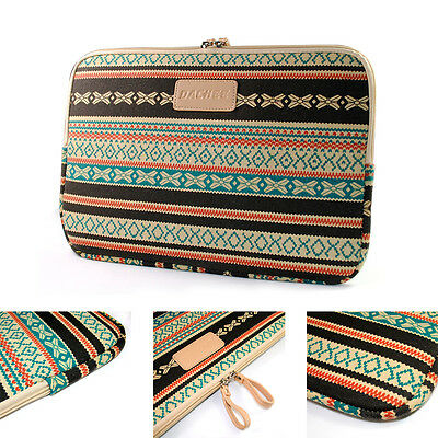 Bohemian Design Laptop Sleeve Bag for Apple MacBook Dell HP Notebook Pouch Case