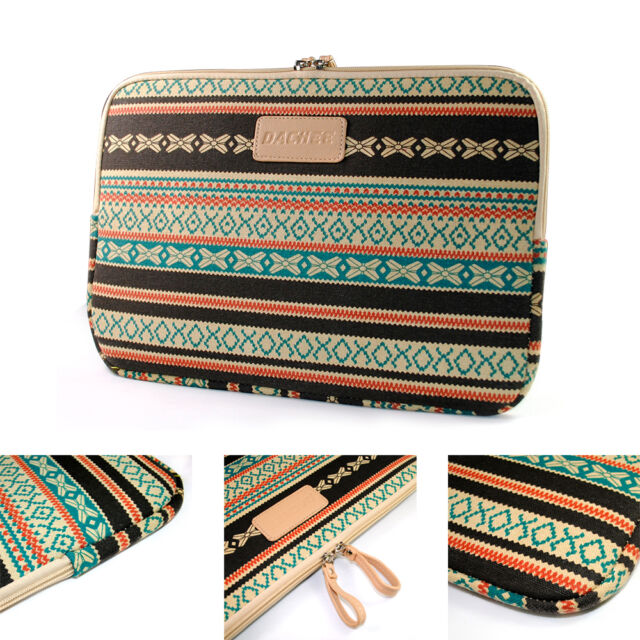 "Personalized Bohemian Laptop Sleeve Case Bag For Macbook Pro iPad10"" 11"" 13"" 15"""
