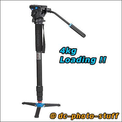 Benro A48TBS4 Aluminium Monopod Kit w/ S4 Video Pan Head * EXPRESS SHIPMENT