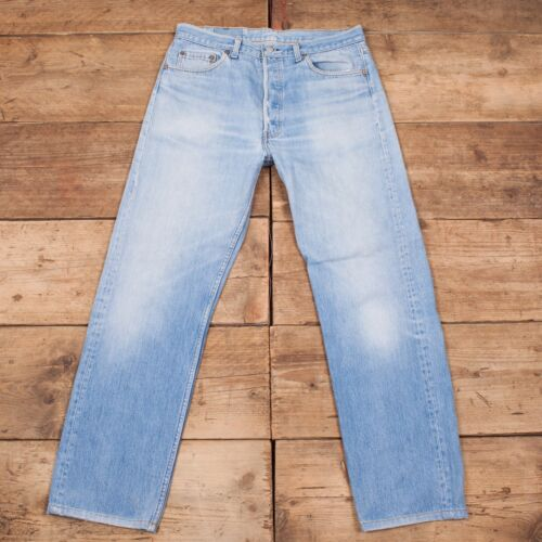 Denim 501 Vintage Tab Blue Levis Jeans Mens 1980s Made Usa 36 Red dSIxqpcw0
