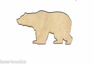 Grizzly-Bear-Unfinished-Wood-Shape-Cut-Out-GB4758-Crafts-Lindahl-Woodcrafts