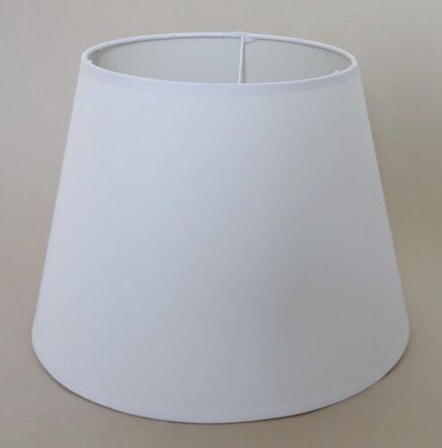 Weiß E14 Stoff Lampenschirm