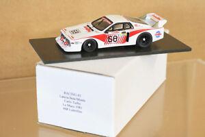 Course 43 Le Mans 1981 Lancia Beta Monte Carlo Lubrifilm Voiture 68 Finotto