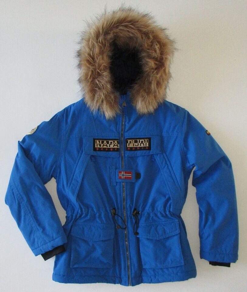 Vinterjakke, Parka- og skijakke i ét, Napapijri