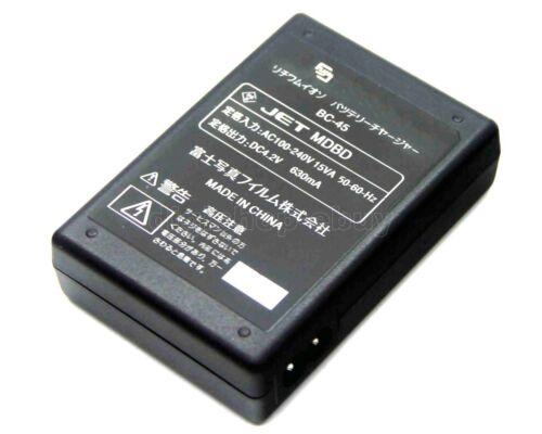 Cargador De Batería Para Fujifilm BC-45 FinePix XP30 XP50 XP55 XP60 XP65 XP70 XP71