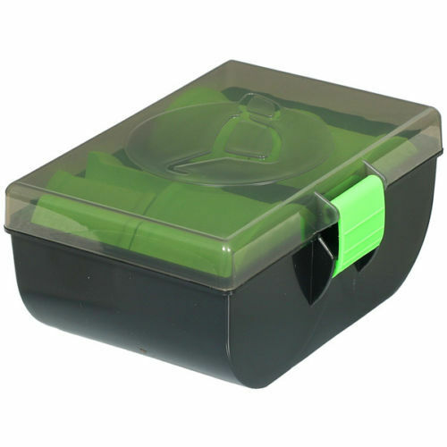 Korda Zig Rig Disk Green Storage Case Box - KZB NEW Carp Fishing