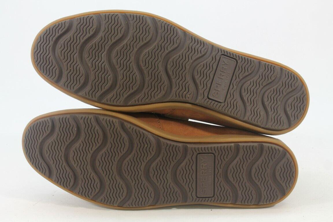 Sperry-Top Sider Leeward Women's Brown 3 Boat Shoes 6M (ZAP12496)
